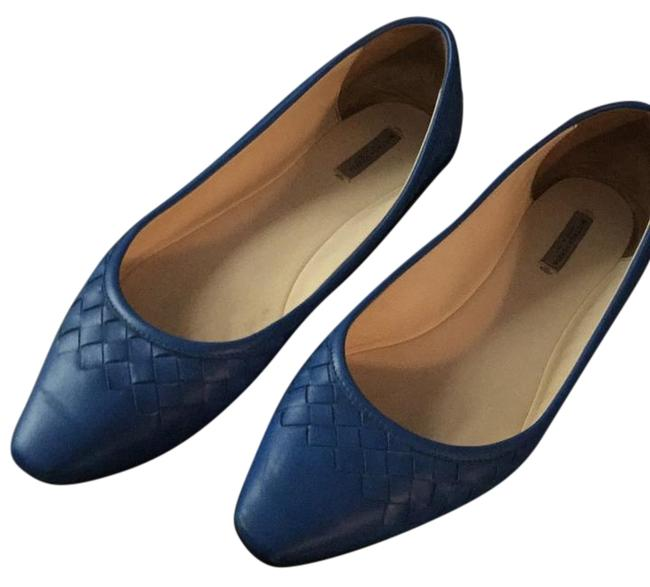 Item - Blue Scarpa Pelle Flats Size US 9 Regular (M, B)