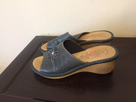 Fly Flot blue Sandals Image 3