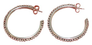 Stephen Dweck 50% OFF! Stephen Dweck Sterling Silver Beaded Large Hoop Earrings