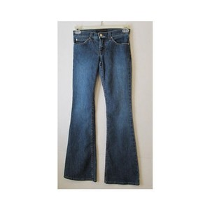Juicy Couture Womens Denim Flare Leg Jeans