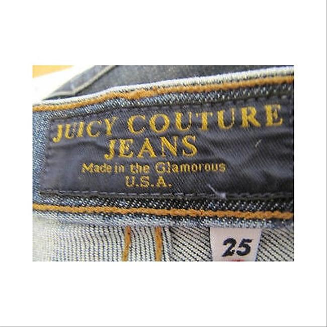 Juicy Couture Womens Denim 25 Flare Leg Jeans