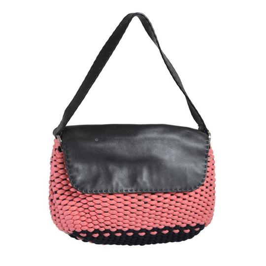 Preload https://img-static.tradesy.com/item/22305507/malo-knitted-trimmed-women-s-multi-color-cottonleather-shoulder-bag-0-0-540-540.jpg