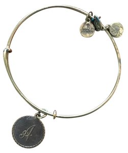 "Alex and Ani ""A"" bangle"