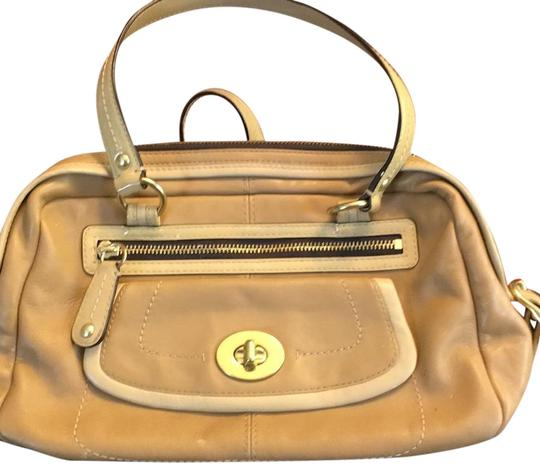 Preload https://img-static.tradesy.com/item/22305547/coach-a-couple-of-pen-marks-a-purple-stain-on-bottom-of-tan-leather-satchel-0-1-540-540.jpg