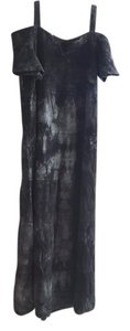 acid wash black Maxi Dress by DUNES