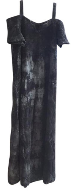 Preload https://img-static.tradesy.com/item/22305554/acid-wash-black-long-casual-maxi-dress-size-14-l-0-1-650-650.jpg