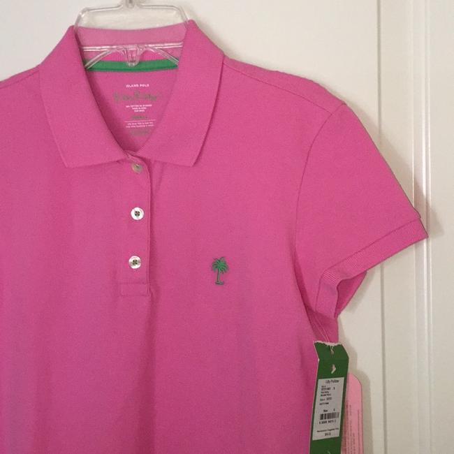 Lilly Pulitzer Top Hotty Pink