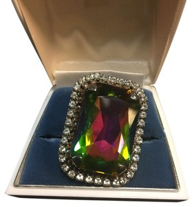 Erickson Beamon Erickson Beamon rhinestone and prism ring