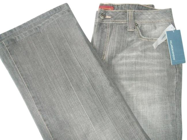 Preload https://img-static.tradesy.com/item/22305812/hillard-and-hanson-women-s-cotton-14-grey-new-boot-cut-jeans-size-36-14-l-0-1-650-650.jpg