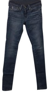 AG Adriano Goldschmied Skinny Jeans-Light Wash