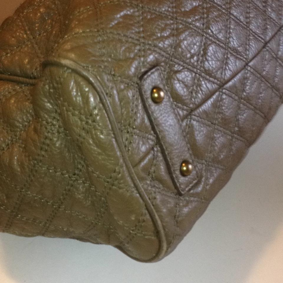 d301df949e4e Marc Jacobs Large Stam Olive Green Leather Satchel - Tradesy