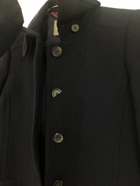 J.Crew Double Cloth Lady Day Thinsulate Navy Jacket