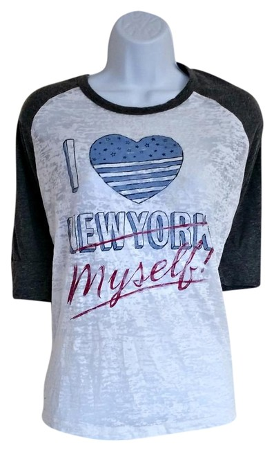 Preload https://img-static.tradesy.com/item/22305956/hilfiger-denim-white-new-york-baseball-i-heart-ny-tee-shirt-size-10-m-0-1-650-650.jpg