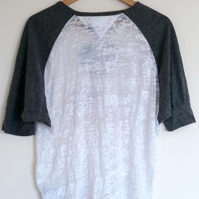 Hilfiger Denim Baseball Batwing New York I Heart Ny T Shirt White