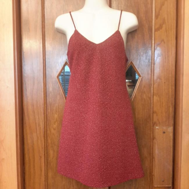 Preload https://img-static.tradesy.com/item/22306003/angie-wine-metallic-short-cocktail-dress-size-4-s-0-1-650-650.jpg