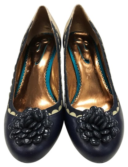 Preload https://img-static.tradesy.com/item/22306078/blue-and-white-country-pumps-size-us-8-regular-m-b-0-1-540-540.jpg