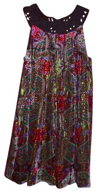 Anthropologie short dress Multi Swingy Spectacular Colors So Unique on Tradesy