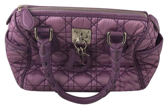 Preload https://img-static.tradesy.com/item/22306261/dior-christian-cannage-purple-satin-and-leather-satchel-0-1-540-540.jpg