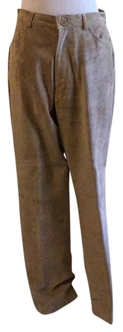 Preload https://img-static.tradesy.com/item/22306383/brandon-thomas-tan-beige-suede-relaxed-fit-pants-size-12-l-32-33-0-1-650-650.jpg