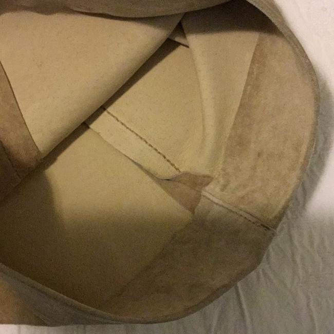 Brandon Thomas Leather Lining Dryclean Only Made In China Relaxed Pants tan beige