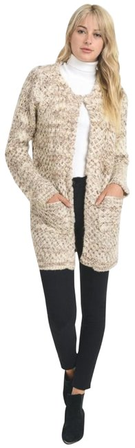 Preload https://img-static.tradesy.com/item/22306431/mocha-textured-chunky-knit-sweater-new-s-m-l-ivory-front-pockets-coat-size-12-l-0-3-650-650.jpg