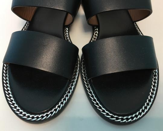 Givenchy Coco Slingback Sling Stiletto Black Sandals