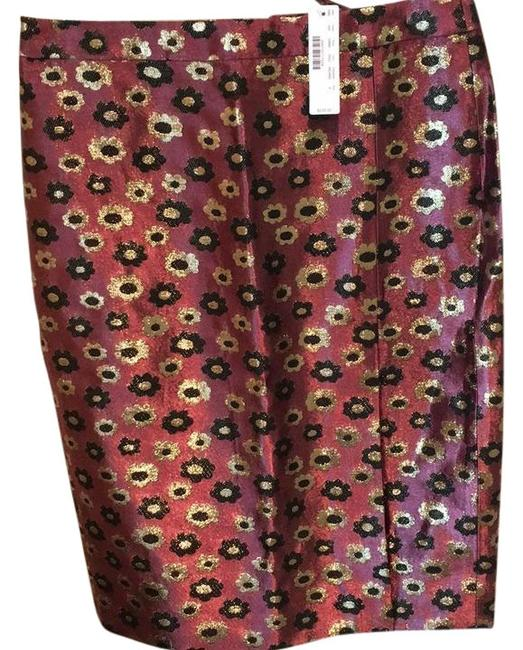 Preload https://img-static.tradesy.com/item/22306520/jcrew-burgundy-metallic-with-gold-and-black-holiday-party-skirt-size-4-s-27-0-1-650-650.jpg