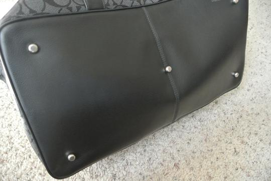 Coach CHARCOAL/ BLACK Travel Bag