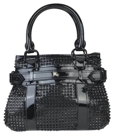 Preload https://img-static.tradesy.com/item/22306684/burberry-rachel-studded-black-patent-leather-tote-0-2-540-540.jpg
