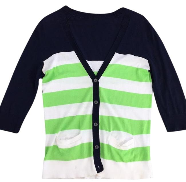 Preload https://img-static.tradesy.com/item/22306723/gap-navy-white-lime-green-cardigan-size-6-s-0-1-650-650.jpg