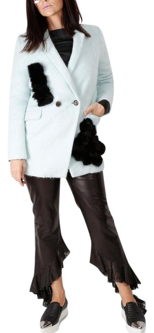 Unbranded Wool Rabitt Fur Coat