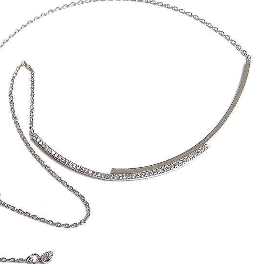 Henri Bendel New Henri Bendel Luxe Pave Orbital Choker Necklace in Silver