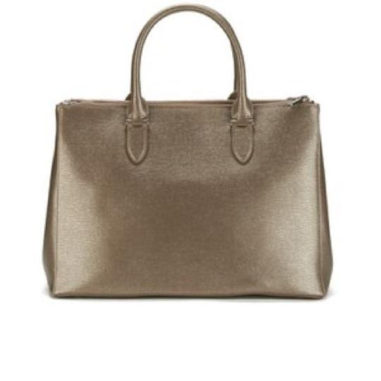 Ralph Lauren Satchel in silver