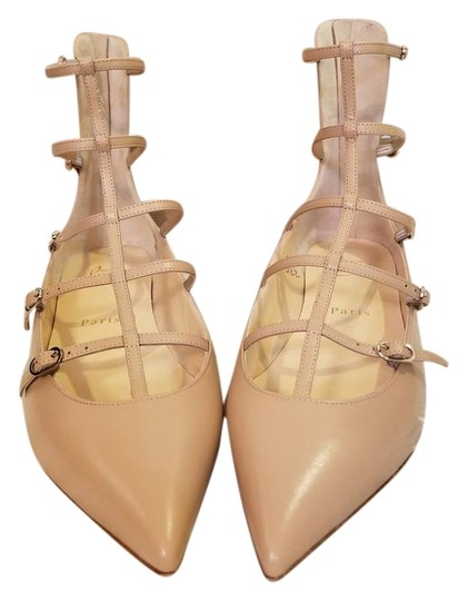 Preload https://img-static.tradesy.com/item/22306956/christian-louboutin-nude-toerless-muse-leather-strappy-cage-ballet-65-flats-size-eu-365-approx-us-65-0-1-540-540.jpg