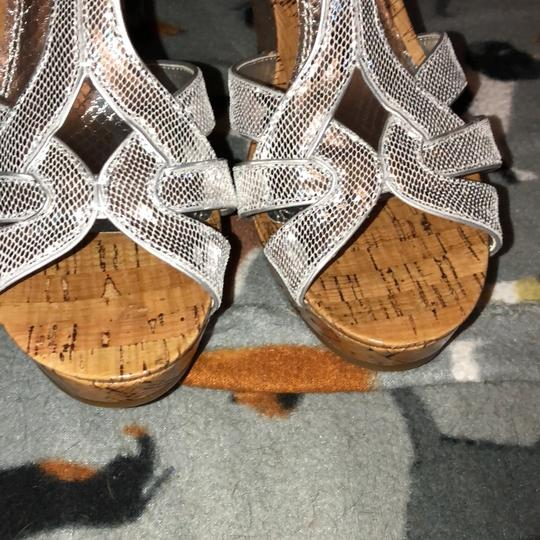 Gianni Bini Silver Wedges