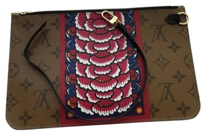 Louis Vuitton Brand new Neverfull MM Pouch from Kabuki Collection Reverse Monogram