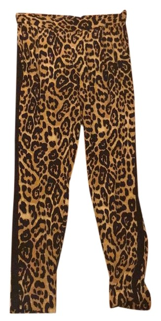 Preload https://img-static.tradesy.com/item/22307295/intermix-brown-exclusive-leopard-print-silk-track-w-tuxedo-trim-pants-size-4-s-27-0-1-650-650.jpg