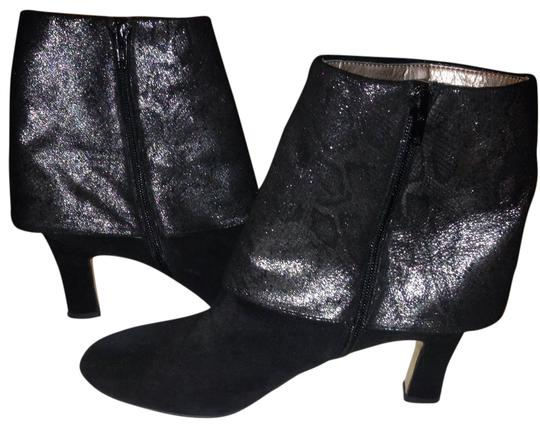 Preload https://img-static.tradesy.com/item/22307506/array-black-and-pewter-spat-covered-ankle-bootsbooties-size-us-10-regular-m-b-0-2-540-540.jpg