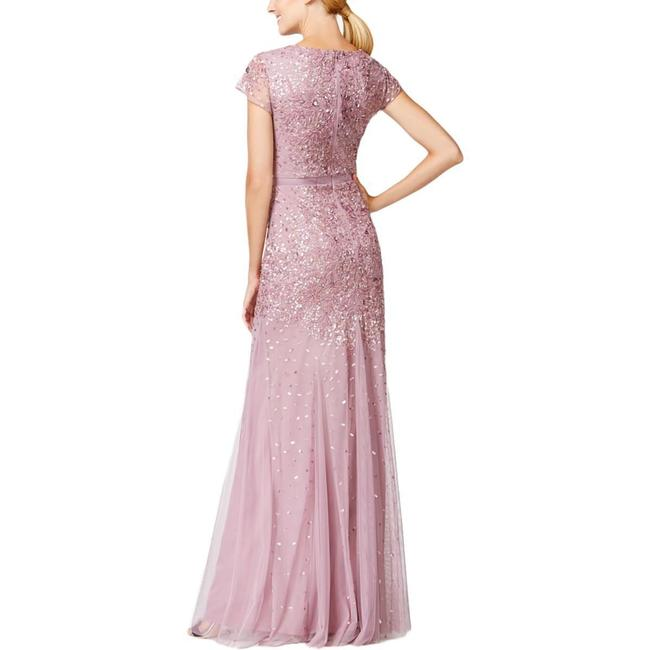 Adrianna Papell Embellished Sequin Beaded Dress