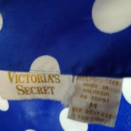 Victoria's Secret Royal Blue polka dot pajama set