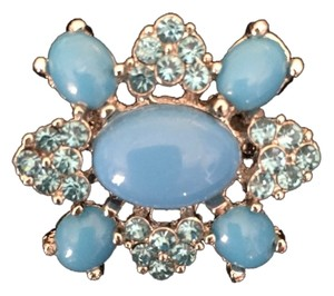 Cachet Turquoise Pin