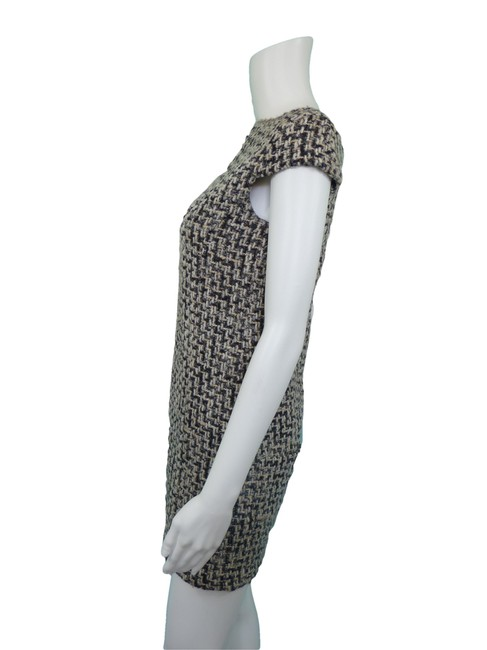 United Colors of Benetton Tweed Mad Men Sheath Wool Dress