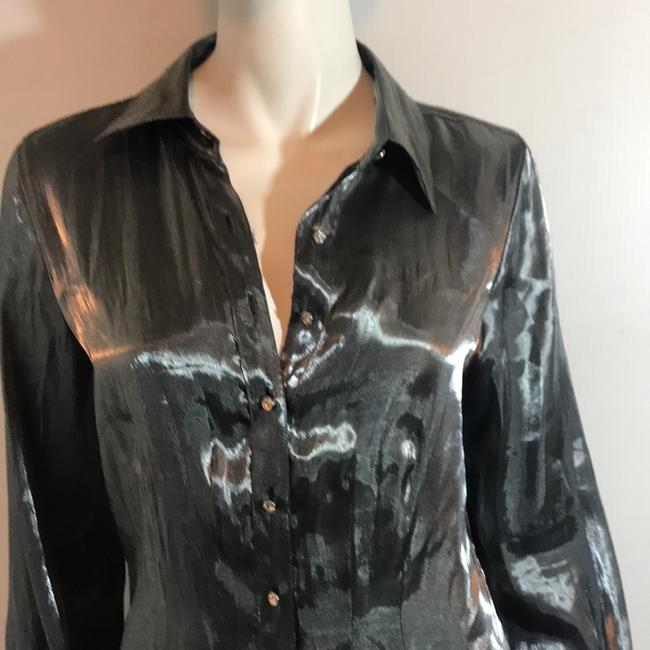 Notations Blouses Top Silver