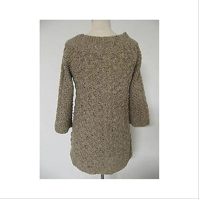 Juicy Couture Womens Wool 34 Sleeve Long Tunic Sweater