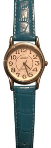 Gossip turquoise genuine leather watch GSP234A