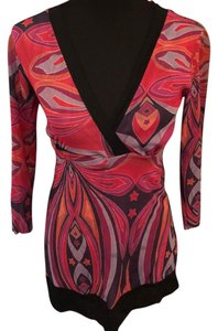 Sweet Pea by Stacy Frati Top multicolor, red, pink, purple