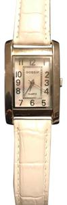 Gossip white genuine leather watch GSP172B