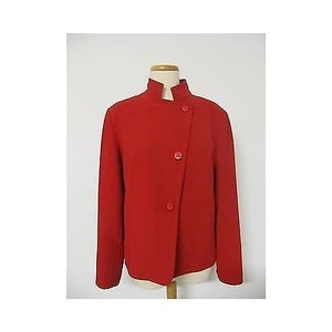 Neiman Marcus Womens Red Jacket