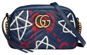 Gucci Ghost Marmont Cross Body Bag