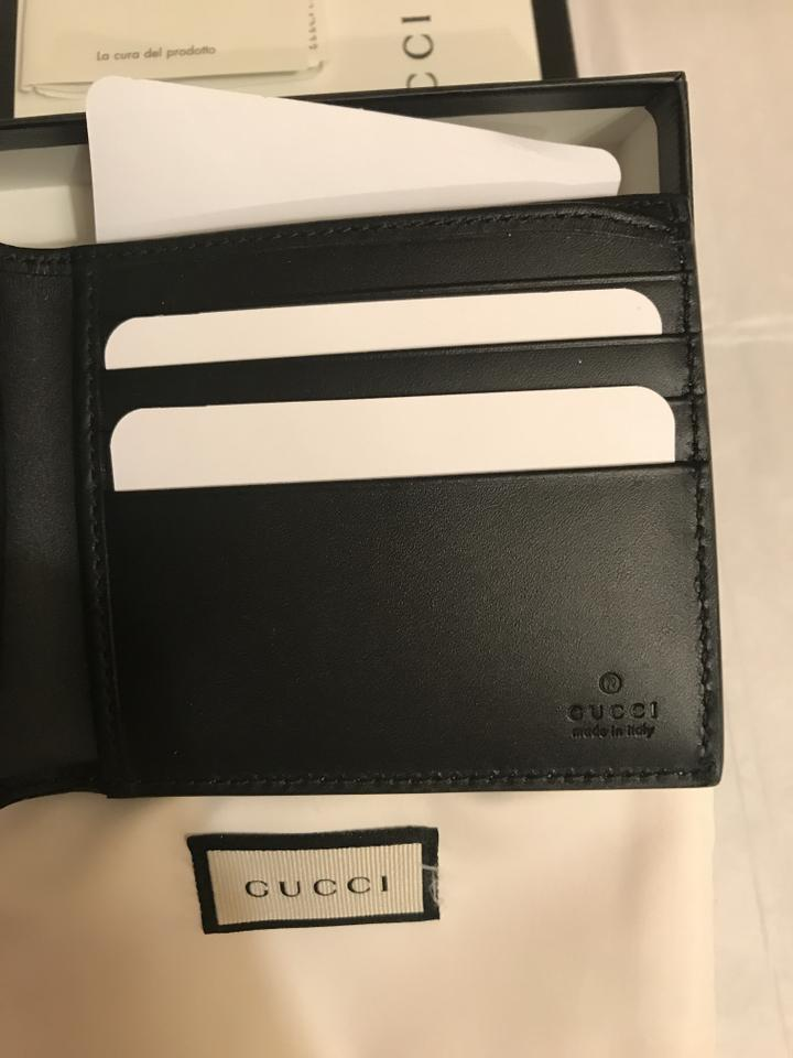 9c2762656106 Gucci Only 1 Left - Angry Cat Print Supreme Wallet - Tradesy